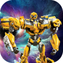 Sandbox Iron Superhero Transformer Color By Number