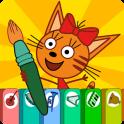 Три Кота Раскраски Для Детей и Музыкальные Игры
