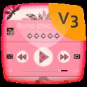 Boho chic Music Player Theme