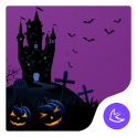Happy Halloween night free theme