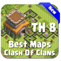 Best Base Maps COC TH8