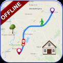 GPS Offline Navigation Route Maps & Direction