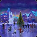 Christmas Rink Live Wallpaper