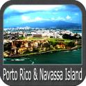 Porto Rico & Navassa Island GPS Charts