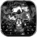 Black Skull Keyboard Theme