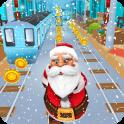 Subway Santa Run