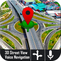 Navegador GPS de voz en tiempo mapas de tránsito