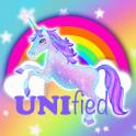Colorful Unicorn Love Theme