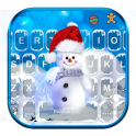 Blue Christmas1 Tema de teclado