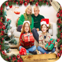 Christmas Photo Frame, Clipart & Card