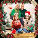 Christmas Photo Frame, Clipart & Card