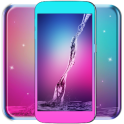 Galaxy Water Live Wallpaper