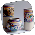 Pottery Design With Color