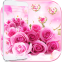 Pink Rose Romantic Love Theme