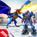 Dragon Transform Robot Warrior Battle