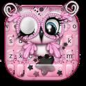 Pretty Pinky Owl Keyboard Theme