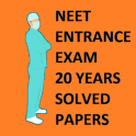 NEET entrance 20 Years Solved Question Bank
