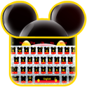 Twinkle Cute Micky Bow Keyboard Theme