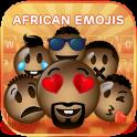 Cool African Emoji Keyboard Theme