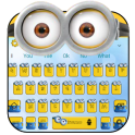Yellow Cute Cartoon Keyboard