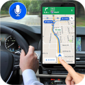 Gps Live Voice Navigation Driving Route Direction