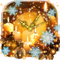 New Year Silvester Clock Live Wallpaper