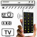 Set Top Box & TV & AC, Remote control 2018