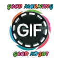 gif good morning and night