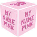 3D My Name Pink Live Wallpaper