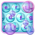 Animated Keyboard Soap Bubbles