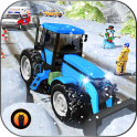 Snow Plow Truck Driving