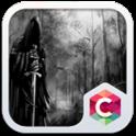 Gothic Black White theme HD