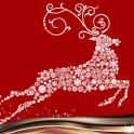 Christmas Reindeer Collage