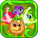 Fruits Crush Mania Match 3 Puzzle