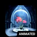 Magic Flower Animated Keyboard + Live Wallpaper