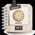 Free Weather and clock widget ⛅