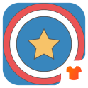 Captain USA Superhero Launcher Theme