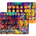 Happy New Year Emoji Keyboard