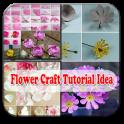 tutorial flower craft idea