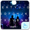 Under The Moon Keyboard Theme