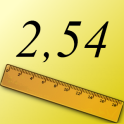 Zoll zu Zentimeter