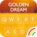 Gold RainbowKeyboard Theme
