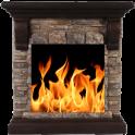FIREPLACE CAST Sleep & Relax Live Fire