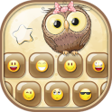 Cute Owls Emoji Keyboard