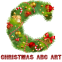 Christmas Craft ABC art