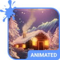 Winter Tale Animated Keyboard + Live Wallpaper