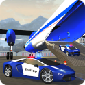 Police Plane Transporter Juego