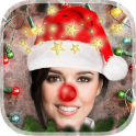 Christmas Photo Sticker Editor