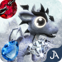 Frozen Dragon Gems Unlocked - Match 3