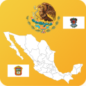 Mexico State Maps and Flags